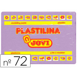 Plastilina jovi 72 lila unidad tamaño grande