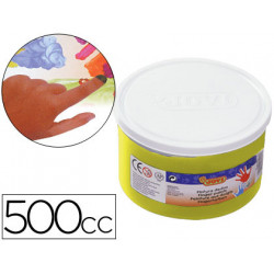 Pintura a dedos jovi 500 cc amarillo