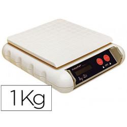 Pesacartas oficina fs9101 electronico 1000 gr