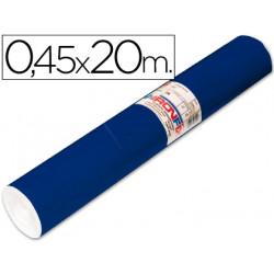 Rollo adhesivo aironfix unicolor azul mate oscuro 67150 rollo de 20 mt