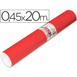 Rollo adhesivo aironfix unicolor rojo mate claro 67151rollo de 20 mt