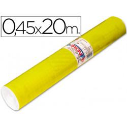 Rollo adhesivo aironfix unicolor amarillo brillo 67007rollo de 20 mt