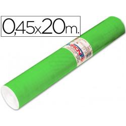 Rollo adhesivo aironfix unicolor verde medio 67005 rollo de 20 mt