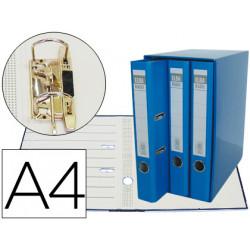 Modulo elba 3 rchivadores de palanca din a4 2 anillas azul lomo de 50 mm