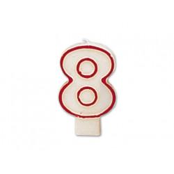 Vela numero 8
