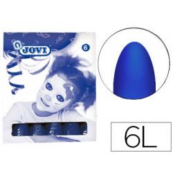 Barra maquillaje jovi azul oscuro caja de 6 unidades