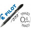 Boligrafo pilot g2 negro tinta gel retractil sujecion de caucho