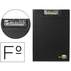 Carpeta liderpapel miniclip superior folio plastico negro