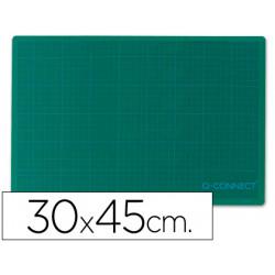 Plancha para corte qconnect tamaño 300x450 mm a3 verde