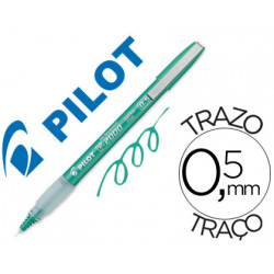 Rotulador pilot punta aguja 2005 verde tinta liquida