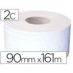 Papel higienico jumbo 2/c blancomandril de 625 mm para dispensador 325