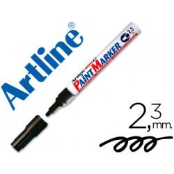 Rotulador artline marcador permanente ek400 xf negro punta redonda 23 mm