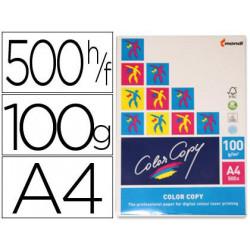 Papel fotocopiadora color copy din a4 100 gramos paquete de 500 hojas