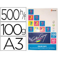 Papel fotocopiadora color copy din a3 100 gramos paquete de 500 hojas