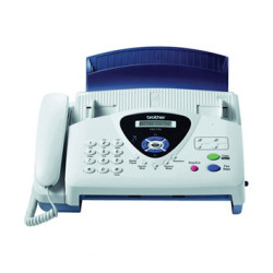 Fax brother t104 transferencia termica de papel normal con telefono incorpo