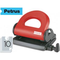 Taladrador petrus 80 color rojo capacidad 10 hojas