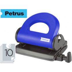 Taladrador petrus 80 color azul capacidad 10 hojas