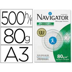 Papel fotocopiadora navigator din a3 80 gramos papel multiuso inkjet y las