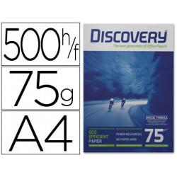 Papel fotocopiadora discovery din a4 75 gramos papel multiuso inkjet y las
