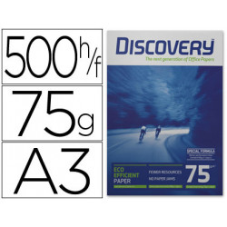 Papel fotocopiadora discovery din a3 75 grs papel multiuso inkjet y laser