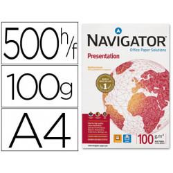 Papel fotocopiadora navigator din a4 100 gramos papel multiuso inkjet y la