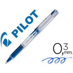 Rotulador pilot roller vball grip azul 05 mm