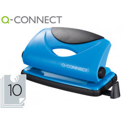 Taladrador qconnect kf02153 azul abertura 1 mm capacidad 10 hojas