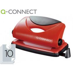 Taladrador qconnect kf02154 rojo abertura 1 mm capacidad 10 hojas