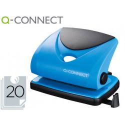 Taladrador qconnect kf02155 azul abertura 2 mm capacidad 20 hojas