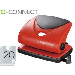 Taladrador qconnect kf02156 rojo abertura 2 mm capacidad 20 hojas