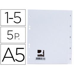Separador qconnect plastico 15 juego de 5 separadores din a5 6 taladros