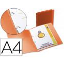Carpeta liderpapel 2 anillas redondas mini 15 mm 49071 polipropileno din a4