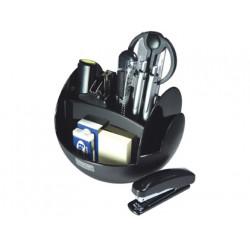 Organizador sobremesa s350 negro con accesorios