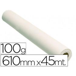 Papel reprografia grafic 100 grs para plotter papel estucado blanco mate
