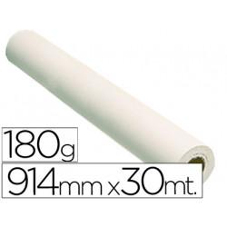 Papel reprografia glossy 180 grs para plotter papel fotografico brillo 914