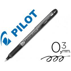 Rotulador pilot punta aguja v5 grip negro 05 mm