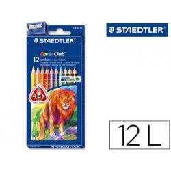 Lapices de colores staedtler noris club caja de 12 colores slim