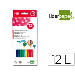 Lapices de colores liderpapel c/ de 12 colores