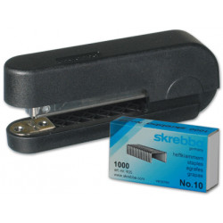 Grapadora skrebba minibit 186 con caja de grapas n10