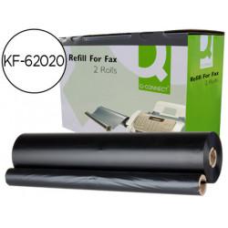 Repuesto fax magic 2 qconnect de transferencia termica 2 bobinas duracion