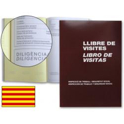 Libro miquelrius n 98 folio 100 hojas registro de visitasde la inspeccion