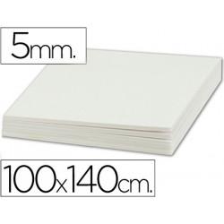 Carton pluma liderpapel doble cara 100x140 cm espesor 5 mm