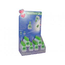 Corrector liquid paper duo 2 en 1 boligrafo corrector + corrector esponja