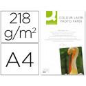 Papel qconnect foto glossy din a4 para fotocopiadoras e impresoras laser