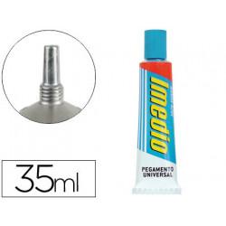 Pegamento imedio banda azul 35 ml unidad