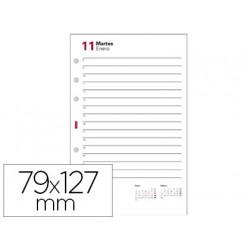 Recambio agenda finocam 603 anualidad 127x79 mm un dia pagina texto en cat