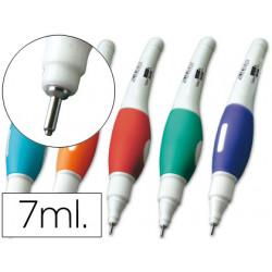 Corrector liderpapel lapiz roller punta metalica de 16 mm capacidad 7 ml