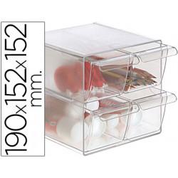 Archicubo archivo 2000 4 cajones organizador modular plastico 190x152x152 m