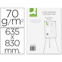 Bloc congreso qconnect papel autoadhesivo 70 grs 635x830