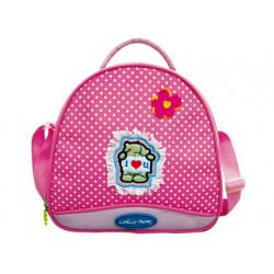 Bolso escolar fantasia rosa eyb07197
